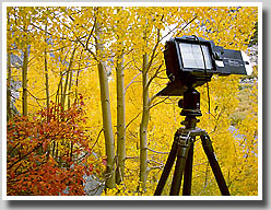 Large Format 4x5 Camera Equipment