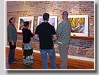 large-format print exhibit